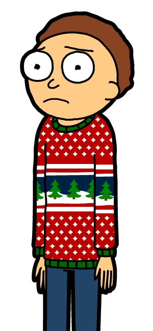 Christmas Sweater Morty