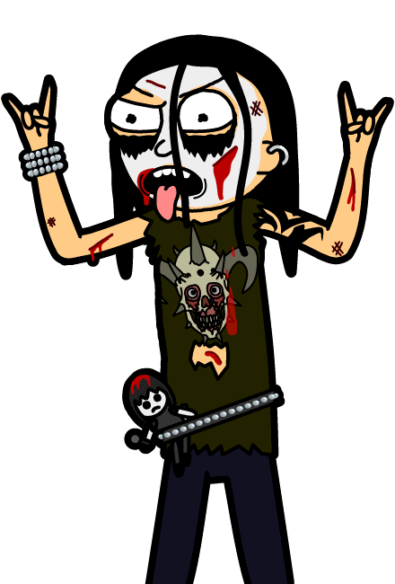 Dethklok Fan Morty