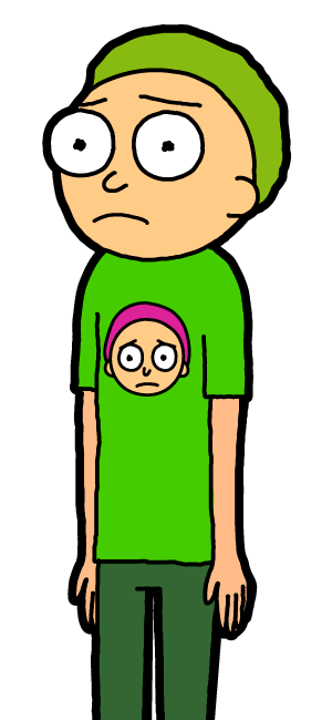 Green Shirt Morty