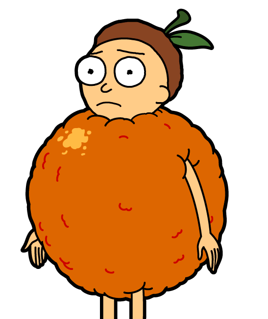 Orange Morty