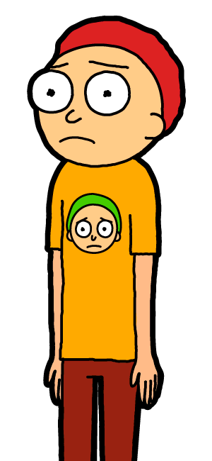 Orange Shirt Morty