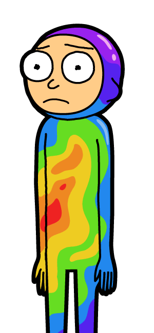 Rainbow Suit Morty