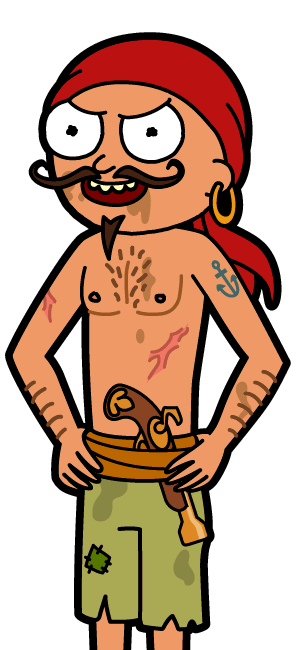 Swashbuckle Morty