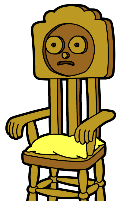 Wooden Chair Morty